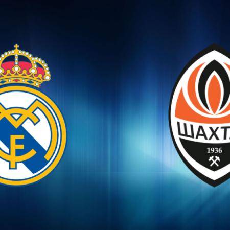 Apuesta Gratis: Real Madrid – Shakhtar Donetsk